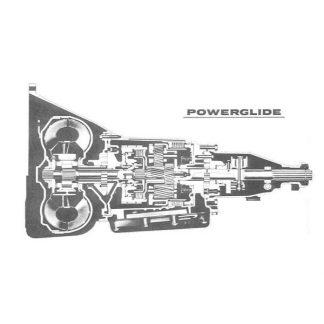 GM Powerglide Aluminium